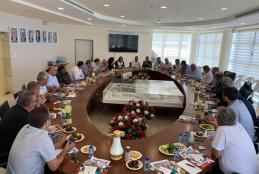 Part of the meeting