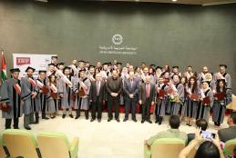 The fourth group of MBA program Students
