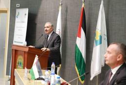 "The opening session of the first annual international conference ""Palestine Where To?"""