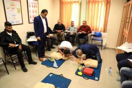 AAUP Organizes a CPR Training for Police Authority