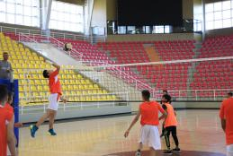 Sports Hall at AAUP Hosts School Olympic Week Events