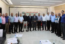 The University Welcomed a Delegation of the Heads and Representatives of Local and National Councils From the Palestinian 1948 Territories