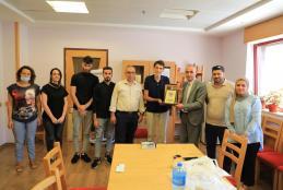 كلية العلوم الطبية المساندة في العربية الامريكية تزور مؤسسات طبية في بيت لحم لبحث تدريب طلبة الأطراف الصناعية