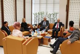 The visit of Dr. Khayriah Rasas Advisor to the Prime Minister to the University