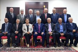 رئيس واعضاء اللجنة التنفيذية