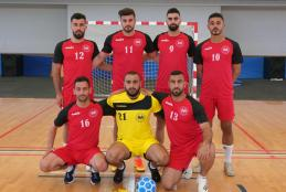 The University's team won First Place within the Final Championship for North Group of Al-Khamasiat Soccer for Palestinian Universities