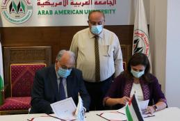 While signing the collaboration agreement