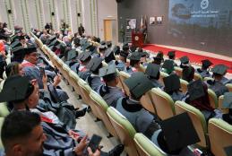 الجامعة تحتفل بتخريج طلبة الدراسات العليا للعام الأكاديمي 2018\2019