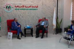 ممثل المكسيك في فلسطين يزور الجامعة