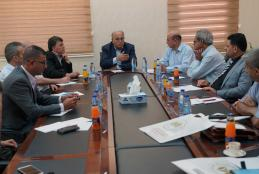 A Media Delegation from the Palestinian 1948 Territories Visit the University