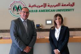 Ambassador of Malta Visits AAUP - Ramallah Campus