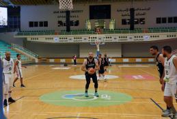 الجامعة تستضيف مباراة بين فريقي سرية رام الله وأرثوذكس رام الله في صالة الجامعة الرياضية الدولية