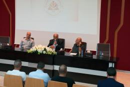 Part of the announcing of the winners in the elections of the founding committee in AAUP Alumni