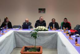 الاجتماع الفني للمباراة الدولية لكرة السلة في الجامعة