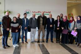 The University hosts the CEO of Paltel Group Mr. Ammar Al Aker in a lecture for Masters students in Ramallah