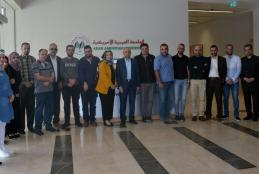 "The University hosts an expert in health economics in a lecture for the Master students entitled ""Health Economics and Finance in Palestine"""