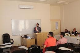 Researcher Mahmoud Taher Ibrahim defense