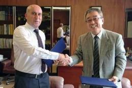 Collaboration agreement between Arab American University and Okayama University, Japan