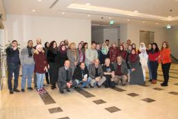 صورة جماعية مع الخبير النرويجي بيون ايكولند