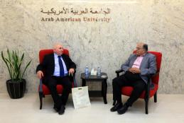 University President meeting Granada College Director