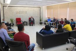 Honoring the university's participating team in the Palestinian Universities Females and Males Championships in 2016 and 2017