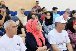 The delegation of American Palestinian youths living in US visited the university