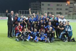 Honoring Hilal Al-Quds the Palestinian Super Champion at Football