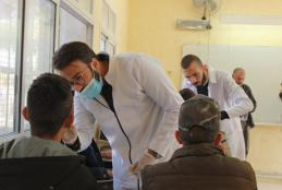 AAUP Concludes Dental Series Visits for High-School Students in Northern West Bank