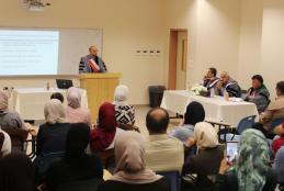 جانب من مناقشة الباحث حسن خالد كميل