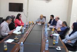 وفد من مؤسسة ميرسي كور الدولية، يزور الجامعة العربية الامريكية لبحث سبل التعاون بين الطرفين