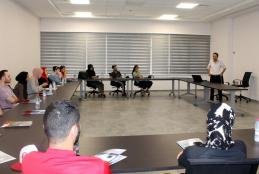 The Palestinian American Community Center delegation reception