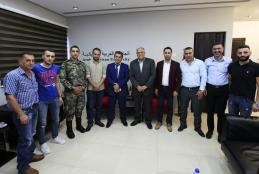 From the delegation of General Intelligence in Jenin visit to the university