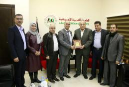 A delegation from the Directorate of Education in Jenin visits the university to discuss enhancing cooperation