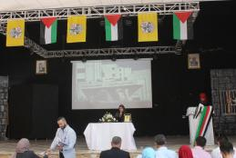 From the university participation in the open scientific meeting with Palestinian Universities