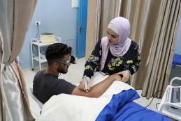 عيادات العلاج الطبيعي في الجامعة