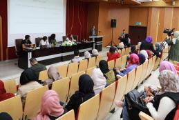 ورشة عمل في الجامعة حول الأمان الرقمي والشباب الفلسطيني