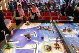 Hosting the 13th National Educational Robotics Championship at the University