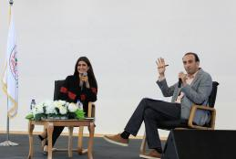 Open Interview With the Journalist Ola Al-Fares at the University