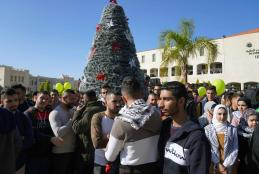 The Ceremony of Lightening the Christmas Tree in AAUP