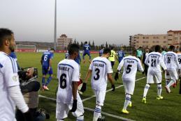 Hilal Al-Quds and Omani Al-Suwaiq Match in the AFC Cup 2018