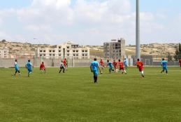 The Final Match of Palestinian Universities Football Championship