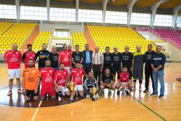 A Friendly Match Between AAUP Employee Team and Directorate of Education Employee Team in Tulkarm