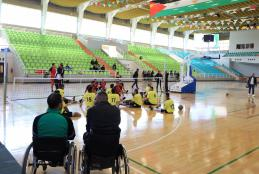 AAUP Hosts Al Mostaqbal Volleyball Team with Special Needs for a Friendly Match