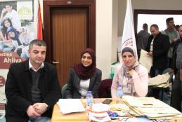 University participant delegation in the fair
