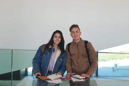 Interior Architecture Students in a Field Trip to the Palestinian Museum to Expand Their Artistic Concepts and Vocabulary