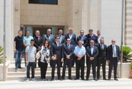 AAUJ President Hosts A Delegation of Turkish Businessmen