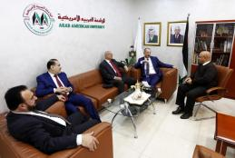 HEAD OF THE DIRECTORS BOARD OF THE ARAB ISLAMIC BANK DR. A'TEF A'LAWNEH VISITS THE UNIVERSITY