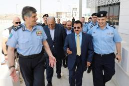 Director General of the Palestinian Police General-Major Hazem Attallah Visits the University Ramallah Campus