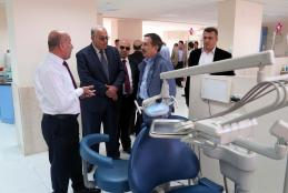 The Mayor of Turkish City Eschshahis Tebibashi Visits the University