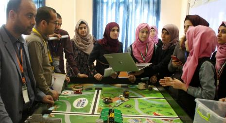 The 12th National Competition For Lego Robots In Palestine